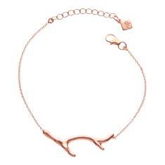 Coral Bracelet in Rose Gold – Juvi Designs
