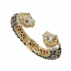 Gold Lion Cuff Bracelet | BuDhaGirl