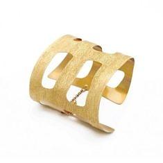 Gold Plated Hand Bracelet