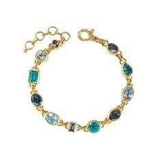 24kt Yellow Gold Rainbow Bracelet