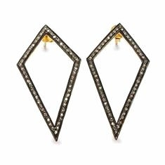Diamond Kite Earrings | Black Betty Design