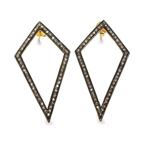 Diamond Kite Earrings | Black Betty Design