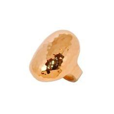 Gold Creation Oval Ring | Murkani