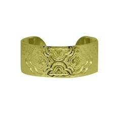 Gold Heavenly Cuff Bangle | Murkani