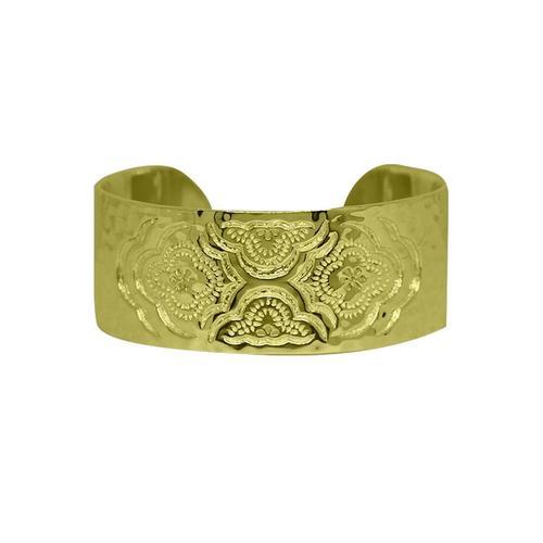 Gold Heavenly Cuff Bangle | Murkani