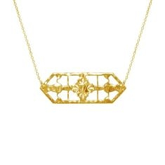 Gold Vintage Treasure Necklace | Murkani