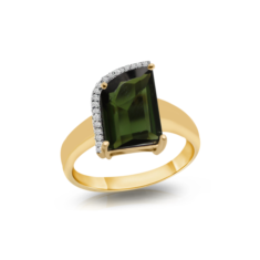 Green Tourmaline Ring | Tresor Collection