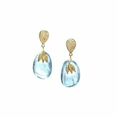 Aquamarine Nugget Drops | Tresor Collection