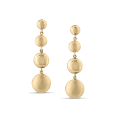 Lente 4 Tier Earrings | Tresor Collection