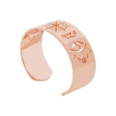 Rose Gold Beleza Cuff Bangle | Murkani Jellerry